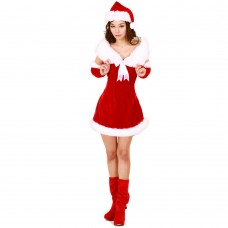 Christmas Costume Mrs Santa Claus dress X-M03
